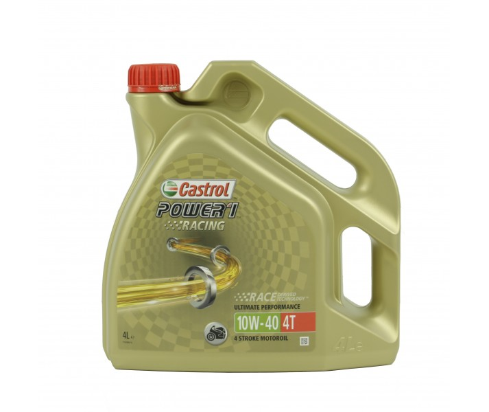 Aceite Castrol Power 1 Racing 4T 10W40 4L