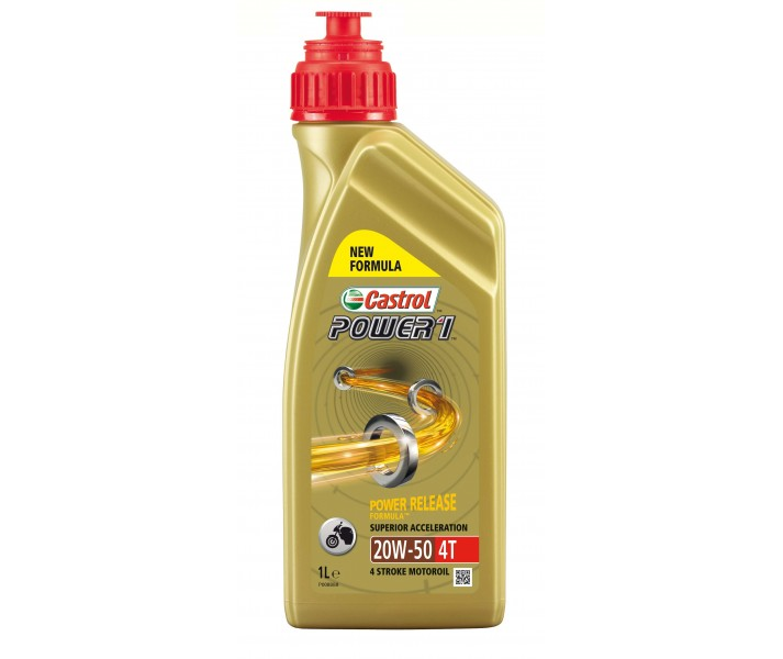 Aceite Castrol Power 1 20W50 1L