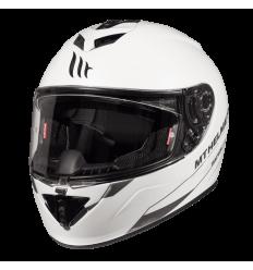 Casco MT Rapide Solid A0 Blanco Perla Brillo
