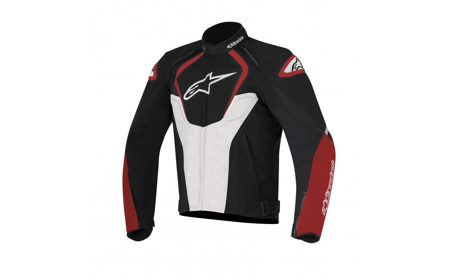 3af7659344a Chaqueta Alpinestars T-Jaws Waterproof Jacket Negro Blanco Rojo ...