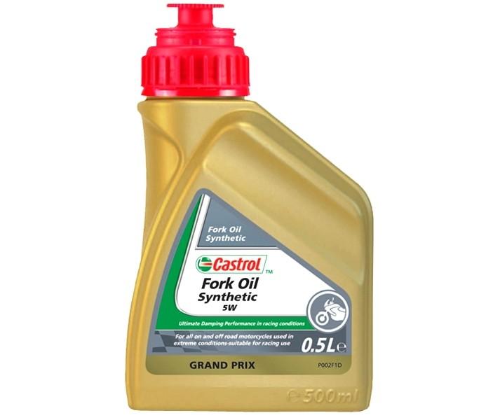Aceite Castrol Horquilla Sintético SAE 5 0.5L