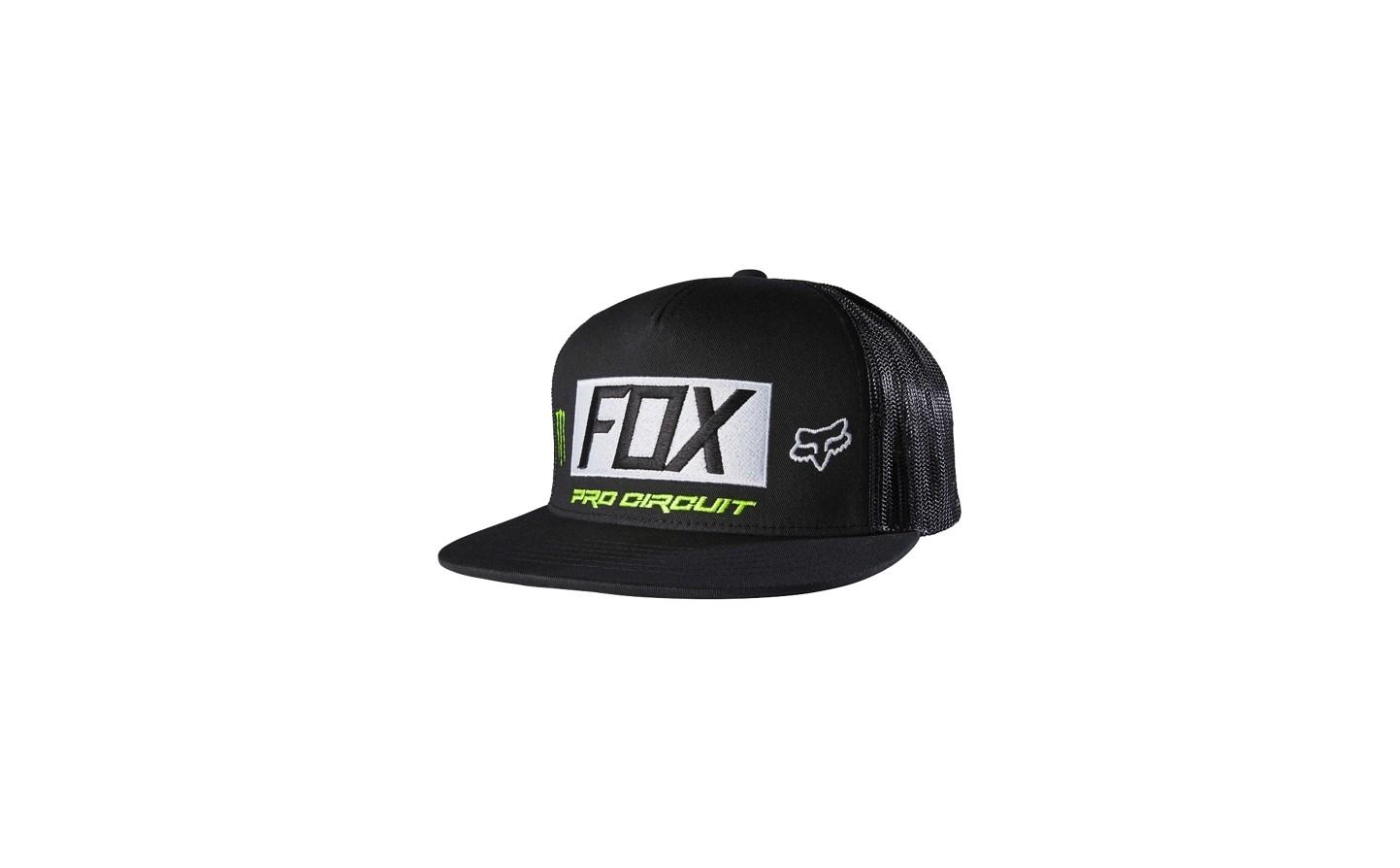6798d27c79bf3 Gorra Fox Monster Paddock SB Pro Circuit