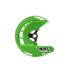 Protector Disco Freno Delantero 4MX Kawasaki Verde - 4MX-FDG-03-GR