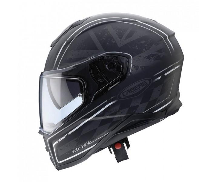 495441e32337f Casco Caberg Drift Armour Negro Mate Antracita - Fabregues Motos