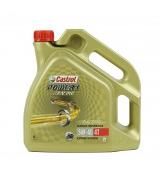 Aceite Castrol Power 1 Racing 4T 5W40 4L