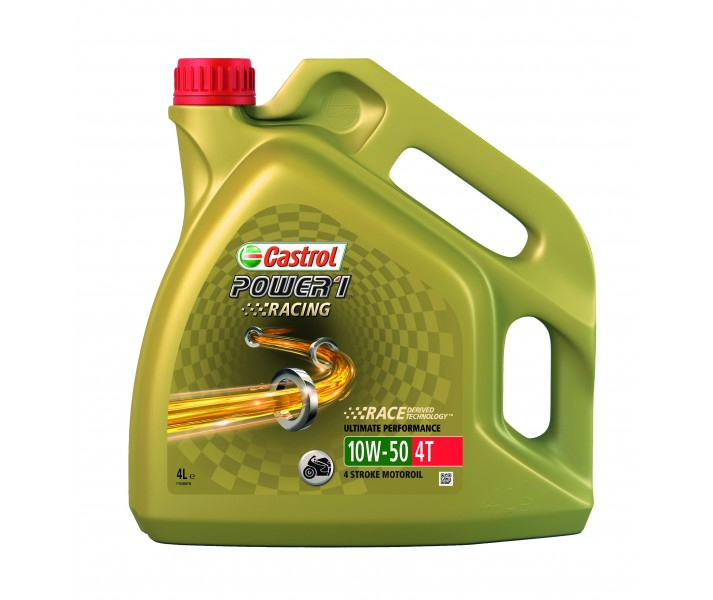 Aceite Castrol Power 1 Racing 4T 10W30 4L