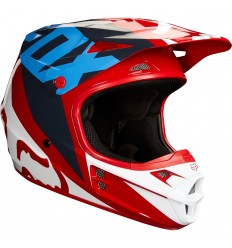 Casco Motocross Fox V1 Race Helmet, Ece Rojo |19532-003|