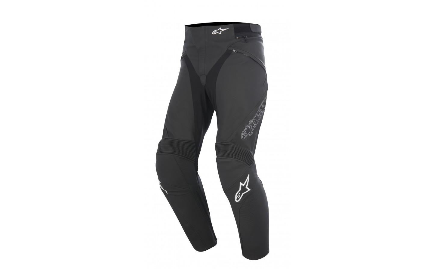 0abb41e4c Pantalón De Piel Alpinestars Jagg Leather Pants Negro