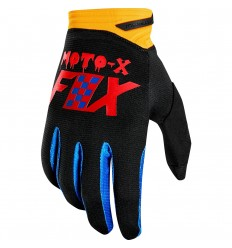 Guantes Fox Dirtpaw Glove - Czar Negro Amarillo |22122-019|