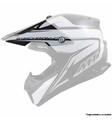 f9bb431d Visera Casco Mt Synchrony Crazy Blanco Brillo