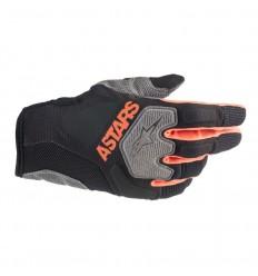 Guantes Alpinestars Venture R Gloves Negro Naranja Fluor|3563019-156|