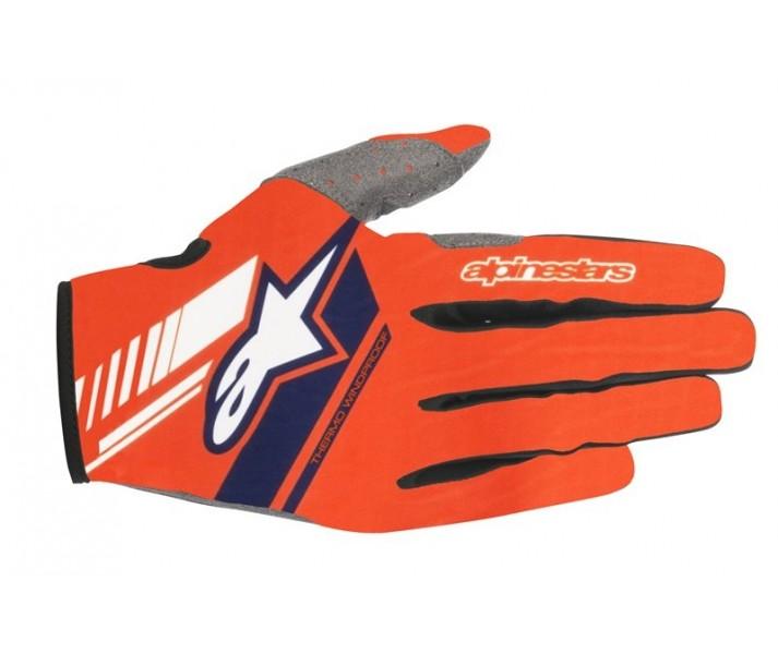 Guantes Alpinestars Neo Gloves Naranja Fluor Azul Oscuro |3565518-470|