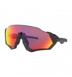 Gafas Sol Oakley Flight Jacket negro mate brillo lente Prizm Road |OO9401-0137|