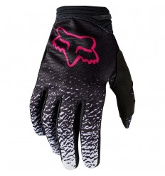 Guantes Motocross Mujer Fox Wmn Dirtpaw Glove Negro Rosa |19509-285|