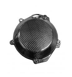 Protector Tapa Embrague Carbon 4MX SFX250/350 16-17 EXCF/FE/FC250/350 - 4MX16.02