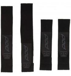 Set Cinchas Con Velcros (Niño) Pod Negro / Girs |KP330-014-OS|