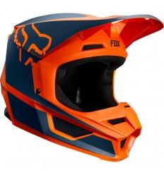 Casco Motocross Fox Yth V1 Przm Helmet Infantil Naranja |20084-009|