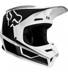 Casco Motocross Fox Yth V1 Przm Helmet Infantil Negro Blanco |20084-018|