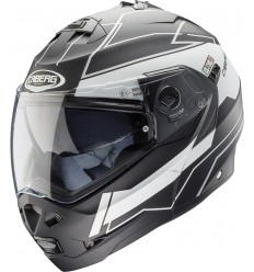 Casco Caberg Duke 2 Gravity Negro Mate Blanco