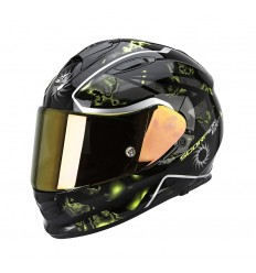 Casco Scorpion EXO-510 AIR Xena Negro-Neon Amarillo 2016