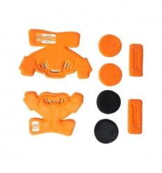 Set Almohadillas Interiores Izquierda Pod Para K1 Naranja |KP410-009|