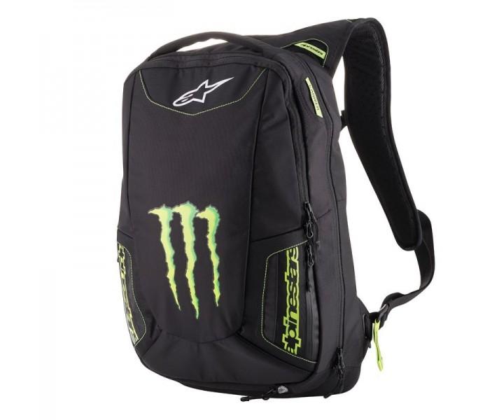 8a96662c528 Mochila Alpinestars Marauder Backpack Monster Energy Negro Verde  |6107918-16