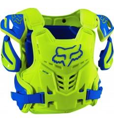 Peto Motocross Fox Raptor Vest, Ce Azul / Amarillo Fx16 |12351-026|