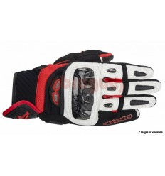 Guantes verano Alpinestars gp air gloves negro blanco rojo as14 2016 |3567914-12