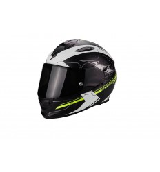 Casco Scorpion EXO-510 Air Cross Negro Mate-Blanco-Neon Amarillo 51-214-175