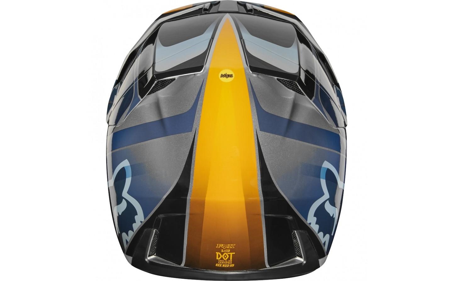 f71b0c83a949a ... Casco Motocross Fibra Fox V3 Motif Helmet