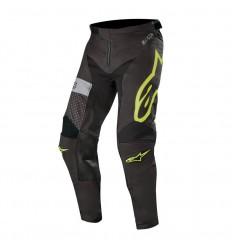 Pantalones Alpinestars Racer Tech Atomic Pants Negro Amarillo Fluor Gris|3722019