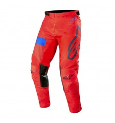 Pantalones Alpinestars Racer Tech Atomic Pants Rojo Oscuro Azul Marino Azul|3722
