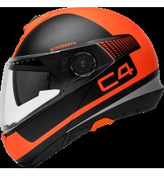 Casco Schuberth C4 Legacy Naranja Mate