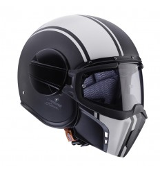 Casco Caberg Ghost Legend Negro Mate/Blanco |34909107|