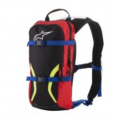 Bolsa Hidratación Alpinestars Iguana Hydration Backpack Negro Azul Rojo Amarillo