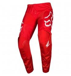 Pantalón Motocross Fox 180 Honda Pant Rojo |21735-003|