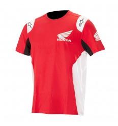 Camiseta Alpinestars Honda T-Shirt Rojo|1H18-73800-30|