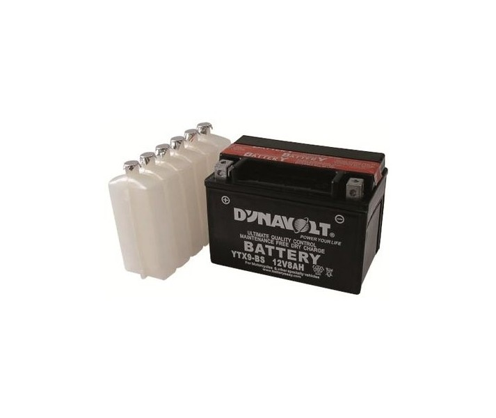Batería Dynavolt S/Mantenimiento Sellada Con Ácido Modelo Yt7B-4 2016