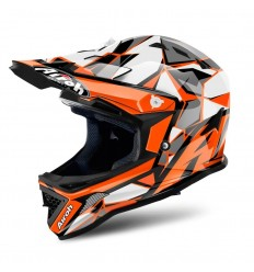 Casco Airoh Infantil Archer Chief Naranja Brillo |ARC32|