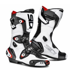 Botas Racing Sidi Mag 1 Air Blanco/Negro |BOSRA01312|