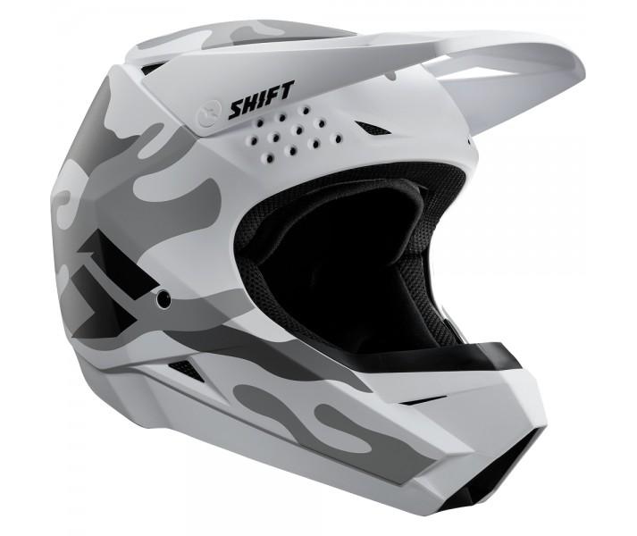a3ad862a2286d Casco Motocross Shift Whit3 Helmet (Camo) Blanco Camo