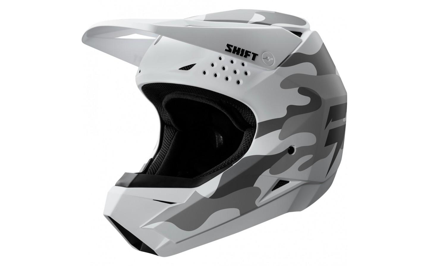5451cb6b40de4 ... Casco Motocross Shift Whit3 Helmet (Camo) Blanco Camo