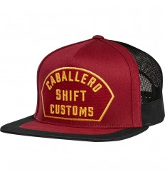 Gorra Shift Caballero X Lab Hat Drk Rojo |20889-208|