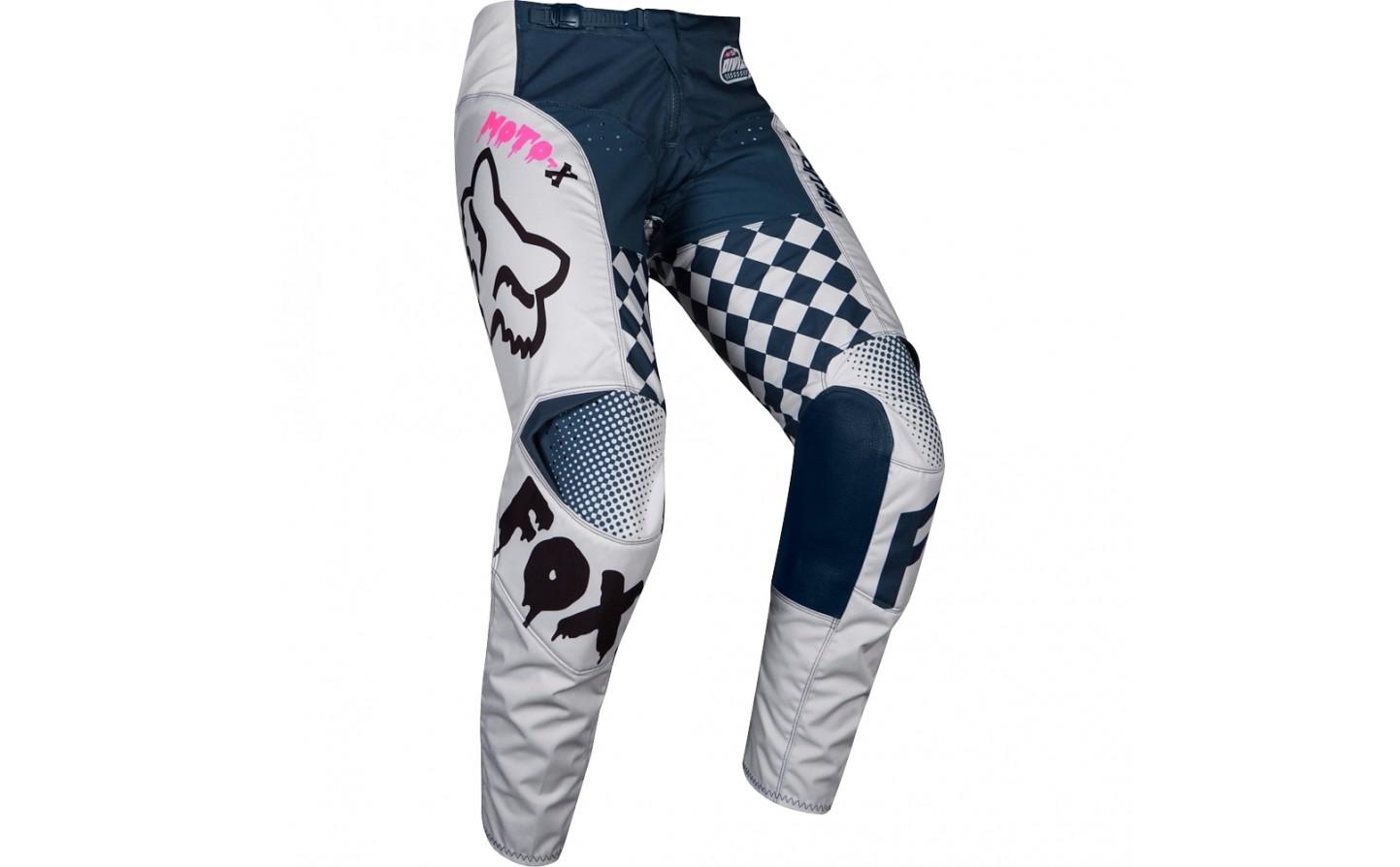 Pantalon Motocross Fox Kids 180 Czar Pant Infantil Claro Gris 22147 097 Fabregues Motos