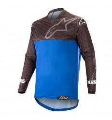Camiseta Motocross Alpinestars Venture R Jersey Negro Azul|3763019-17|