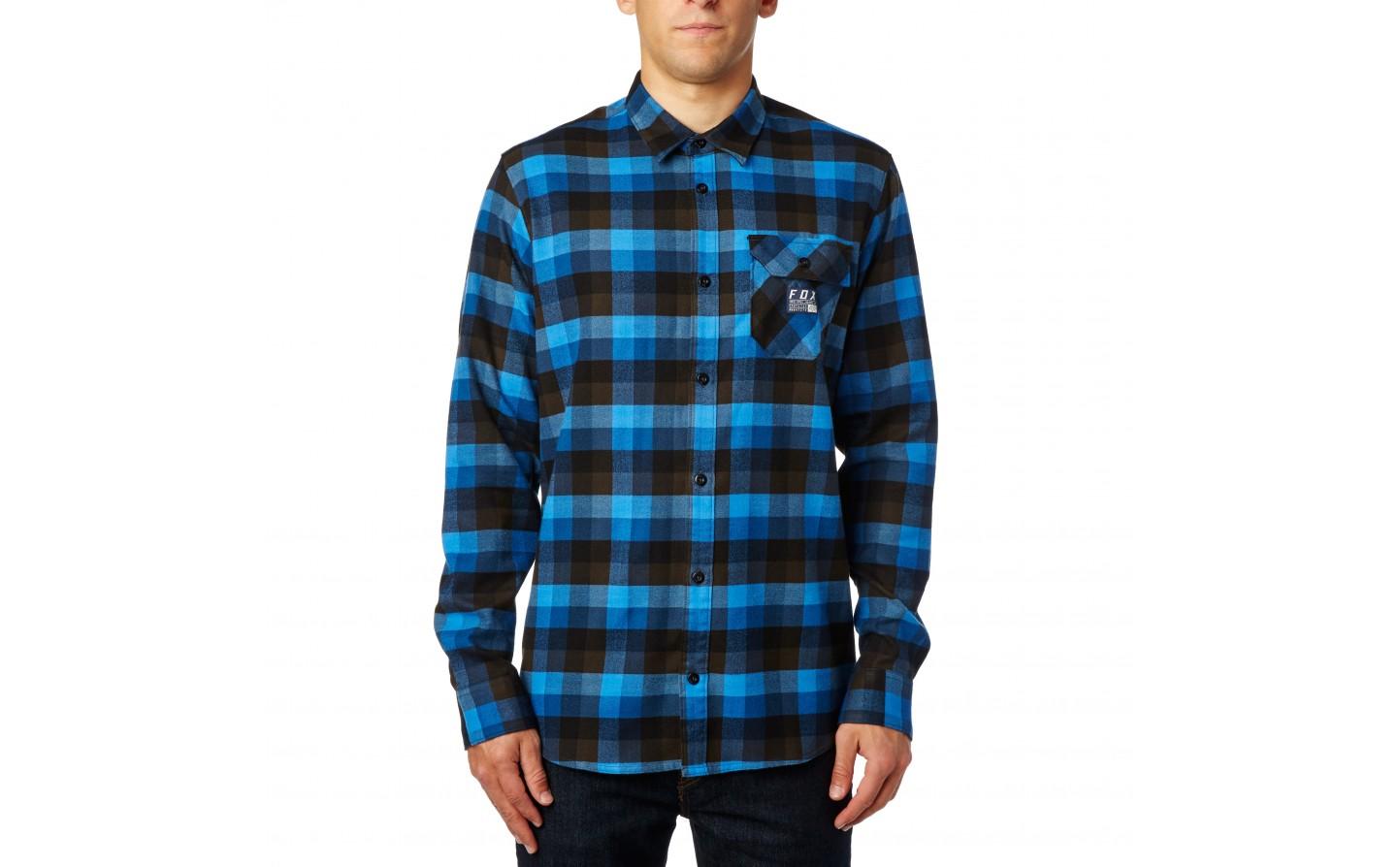 9c9909346 ... Camisa Manga Larga Fox Rovar Flannel Azul