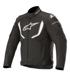 Chaqueta Alpinestars T-Gp R V2 Waterproof Jacket Negro Blanco 3205619-12 