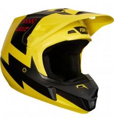 Casco Motocross Fox V2 Mastar Helmet, Ece Amarillo |19530-005|