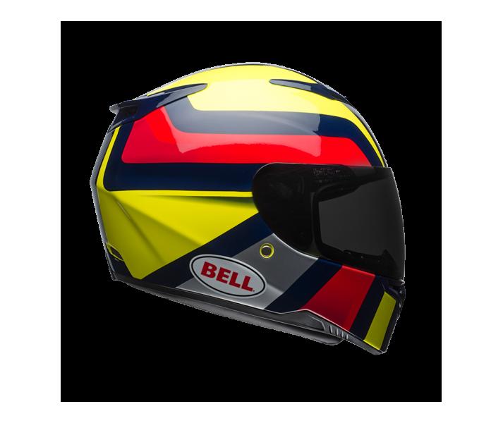 Casco Bell Rs2 Empire Amarillo/Azul Oscuro/Rojo