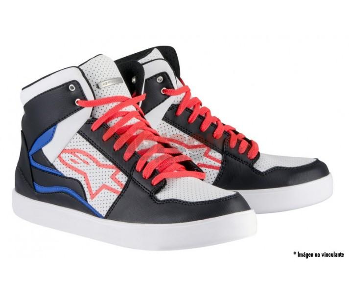 Zapatillas Alpinestars anaheim shoe negro blanco rojo azul as14 2016  2519115-12